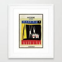 matisse Framed Art Prints featuring matisse+ito by federico babina