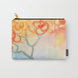 Cherry flowers in the blue jug Carry-All Pouch