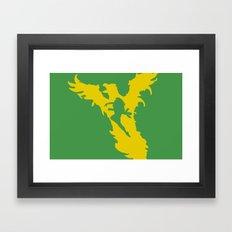 Phoenix Force Framed Art Print