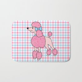Pink Poodle Bath Mat