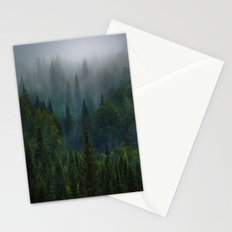 I dream in evergreen Stationery Cards