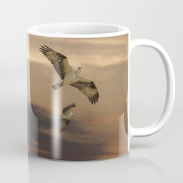 Osprey at Sunset Coffee Mug
