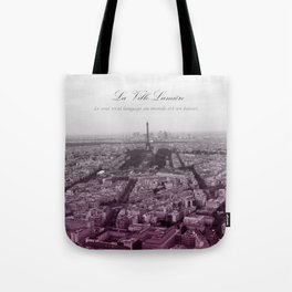 La Ville-Lumiére Tote Bag