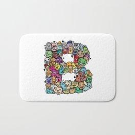 Alphabet B. The alphabet series Bath Mat
