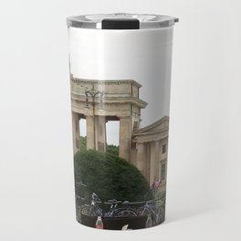 Cafe View of the Brandenburg Gate Travel Mug