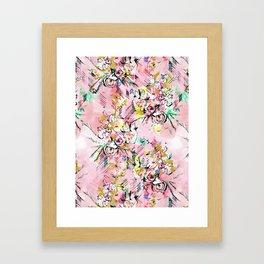 FLORAL ARROW Framed Art Print