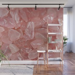 Rose Quartz Wall Mural