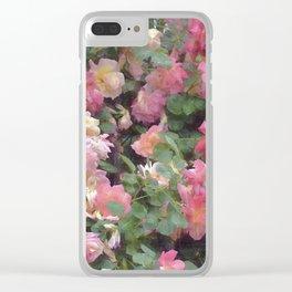 Rose 356 Clear iPhone Case