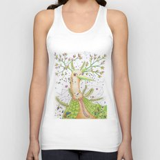 Forest's hear Unisex Tank Top