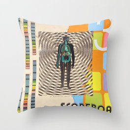 implant Throw Pillow