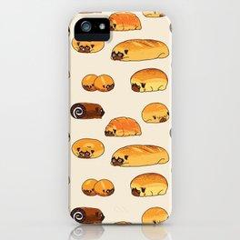 Bread Pugs iPhone Case
