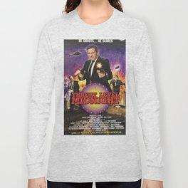 Geng Threat Level Midnight Poster Long Sleeve T-shirt