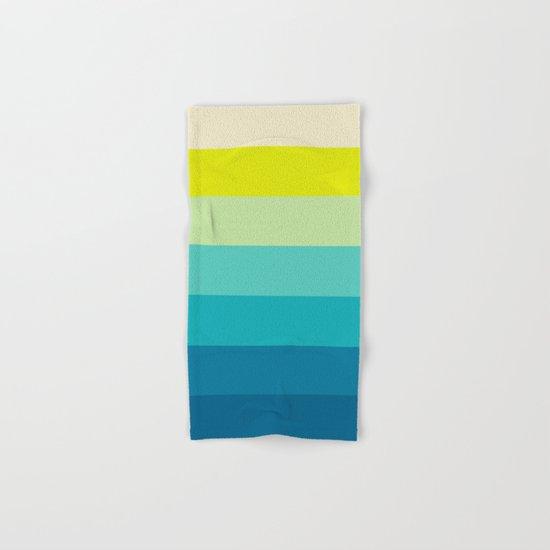 colored stripes 04 Hand & Bath Towel