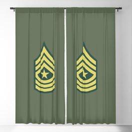 Sergeant Major (OD Green) Blackout Curtain
