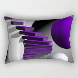 go violet -12- Rectangular Pillow