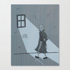 The Belgian Journalist. Canvas Print