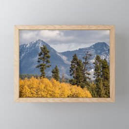 Big Prairie - Glacier National Park Framed Mini Art Print