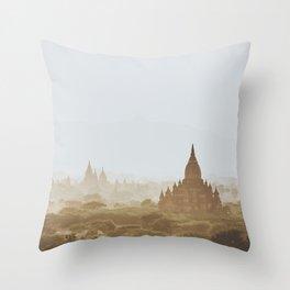 Bagan III Throw Pillow