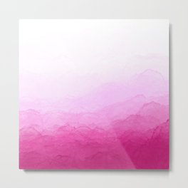 Floating in the Pink Clouds Metal Print