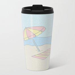 Beachy Metal Travel Mug