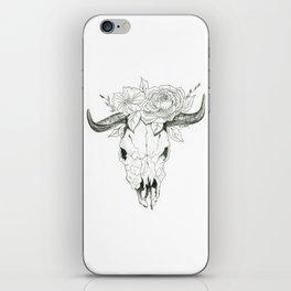 Bull Skull iPhone Skin