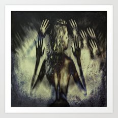 Gathering of Hands Art Print