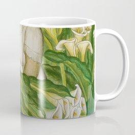 California Calla Lilies by Maxine Albro Coffee Mug