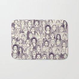 WOMEN OF THE WORLD PURPLE Bath Mat