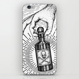 Sky god passing on the elixir of death to defeat ones enemies.  iPhone Skin