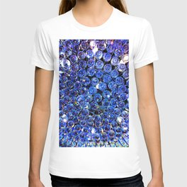 Blue Crystal Chandelier T-shirt