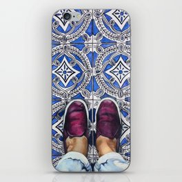 Art Beneath Our Feet - Ancona, Italy iPhone Skin
