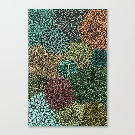 Ink  Pattern No.4 Canvas Print
