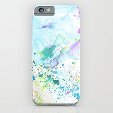 Stream of Consciousness watercolor Slim Case iPhone 6