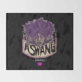 The Aswang Diaries Throw Blanket
