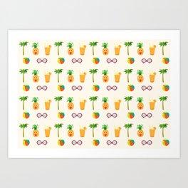 Welcome Summer Art Print