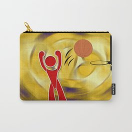 Basketball Icon Carry-All Pouch