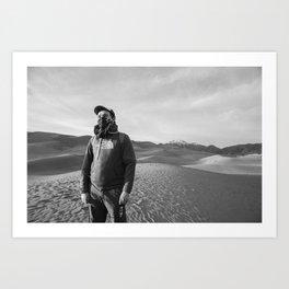The Wasteland Art Print