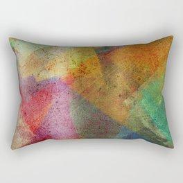 Colorful paint texture Rectangular Pillow