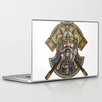 viking Laptop & iPad Skins featuring Viking by Spooky Dooky