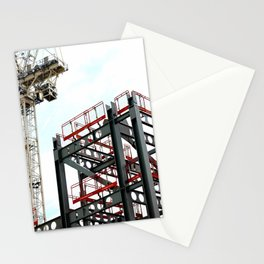 Under construction Stationery Cards