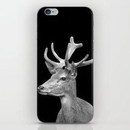 Deer Black iPhone Skin