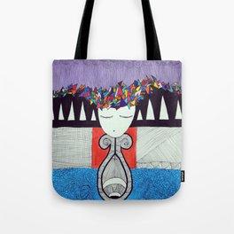 Dream Slug Train Lady Tote Bag
