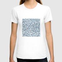 whale T-shirts featuring Whale, Sperm Whale by Elena O'Neill