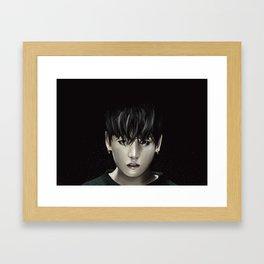 Jungkook (BTS) Framed Art Print