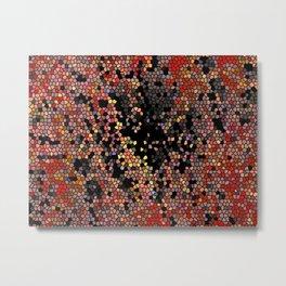 Abstract Mozaik Metal Print