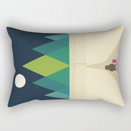 Long Journey Rectangular Pillow