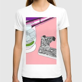 Zebra Phone in Tokyo Roppongi T-shirt