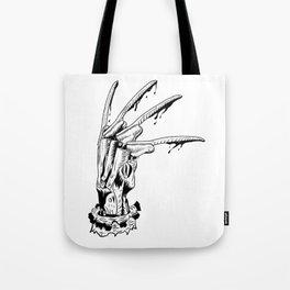 Krueger glove Tote Bag