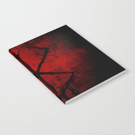 Black Marked Berserk Notebook
