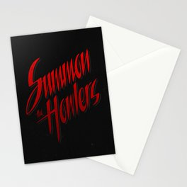 Summon the howlers Stationery Cards